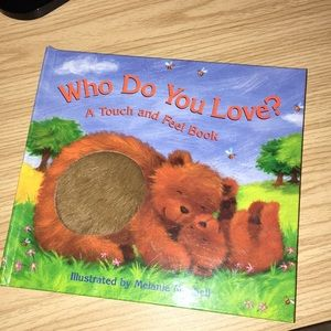 A touch and feel book!